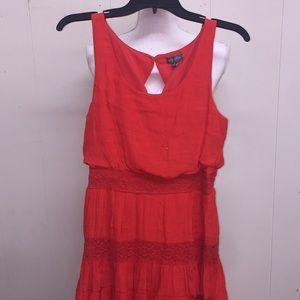 women's Lily Rose Dress Size Medium Sun Dress